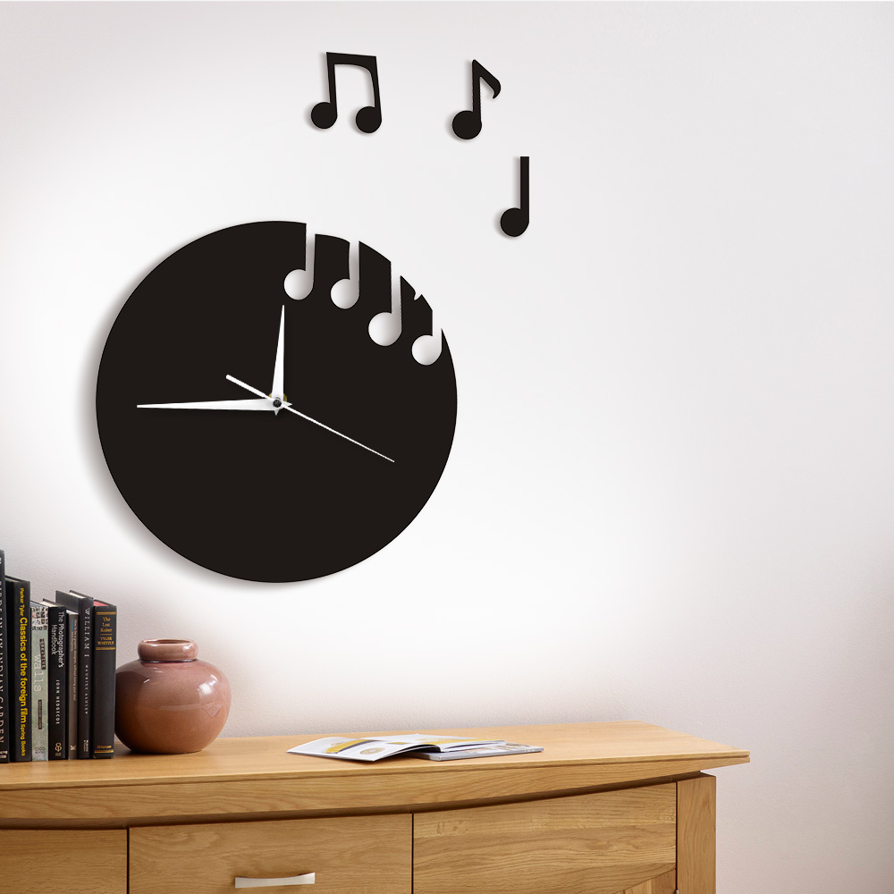 Fullsize Of Floating Wall Clock