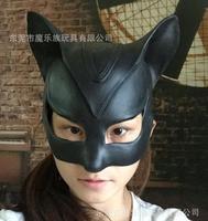 Nova Máscara do Partido Dança Sexy Máscara de Látex Bola Meninas Catwoman Máscara Masquerade Halloween Fancy Dress Traje Do Gato Preto Gato Brinquedos