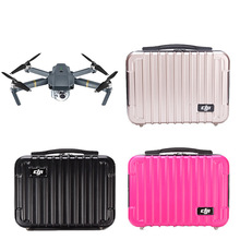 hot deal buy dji mavic pro portable suitcase pc hard shell case tool storage box high quality waterproof box standard accessories quadcopter