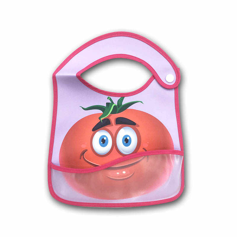 Bayi Bib Tahan Air Makan Siang Makan Oto Bayi Lucu Bib Kartun Feeding Kain Handuk Anak-anak Lengan Panjang Apron Bersendawa Pakaian