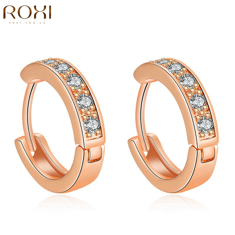 roxi women wedding earrings jewelry rose gold color. Black Bedroom Furniture Sets. Home Design Ideas