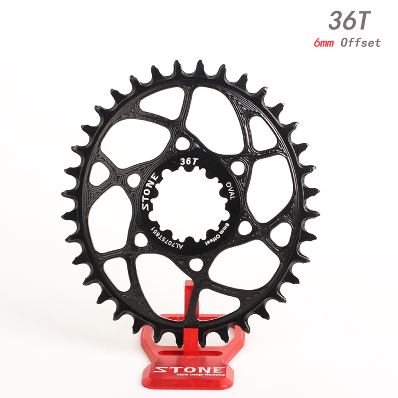 Stone Oval Single Chainring 6mm Offset Direct Mount For GXP xx1 xo1 eagle GX 12 Speed