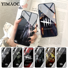 YIMAOC horror Dead by Daylight Retrospective Glass Case for Huawei P10 lite P20 Pro P30 P Smart honor 7A 8X 9 10 Y6 Mate 20