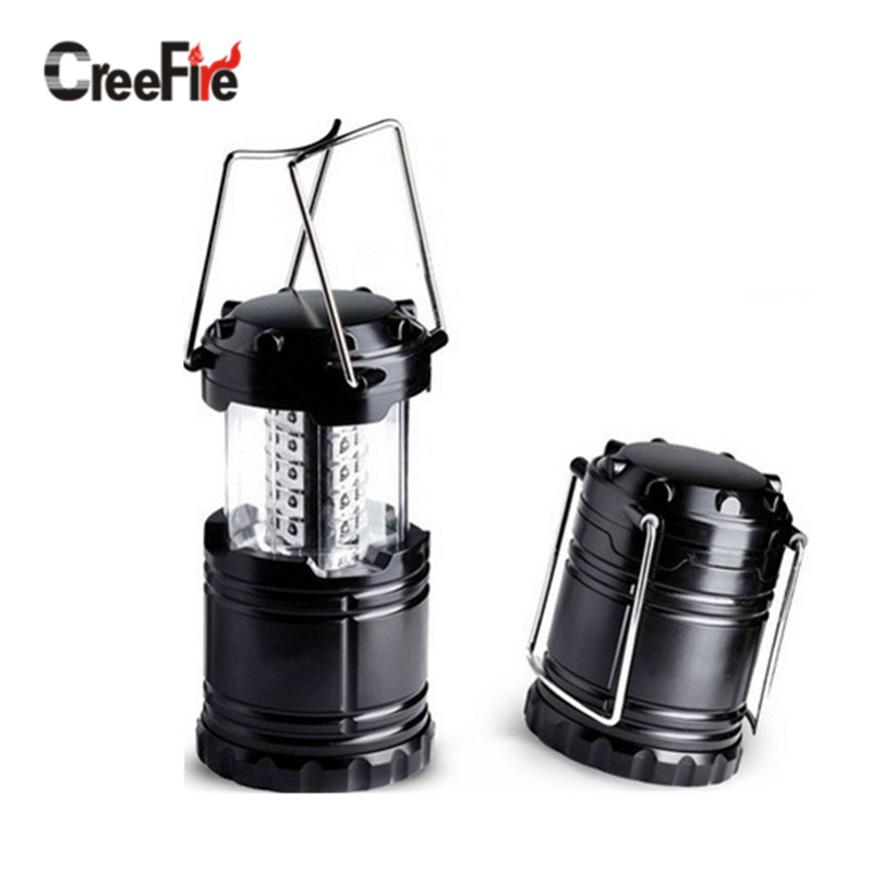 High Power Ultra Bright 30 LED Camping Light Collapsible Camping lantern for Hiking Camping