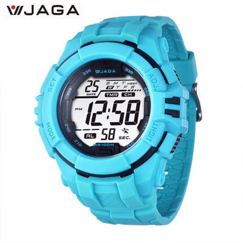JAGA Reloj militar para hombres Relojes deportivos Natación Reloj - Relojes para hombres