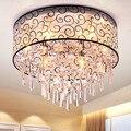 Хрустальная потолочная лампа для спальни  Современный Простой полый абажур для учебы  освещение для ресторана  индивидуальная лампа LM5151710py