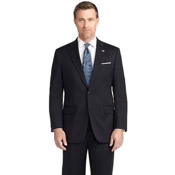 2017 Custom Made Black Wedding men Suits latest coat pant designs Two Buttons men suit Back Vent Cheap Groom Wear costume homme