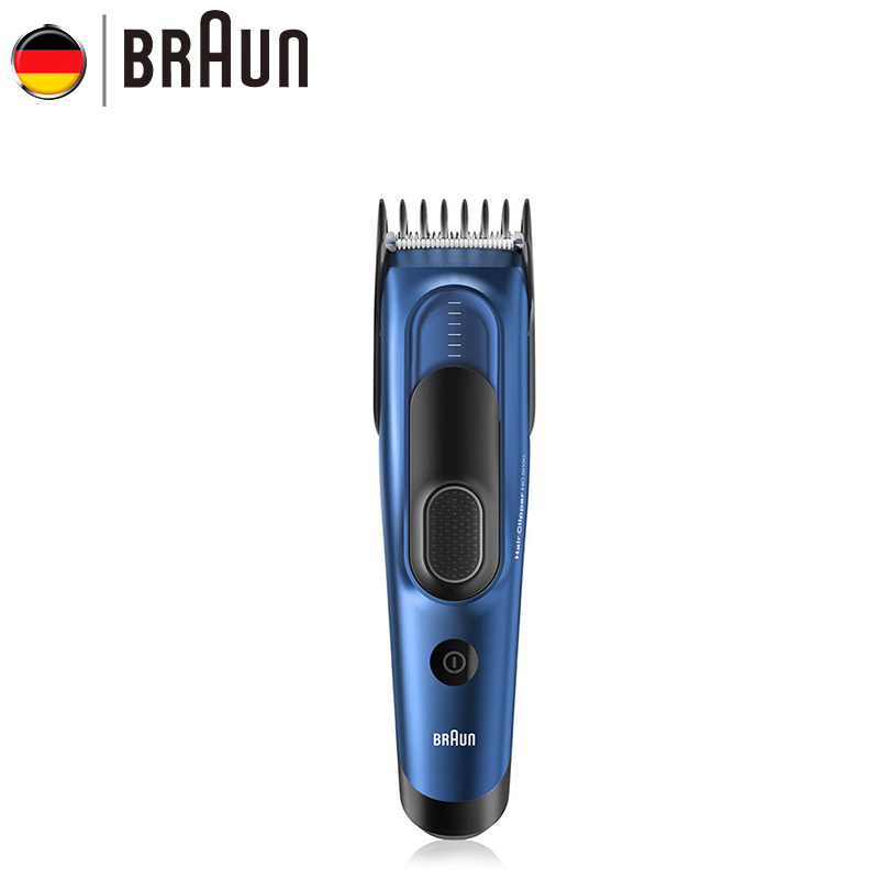 Braun HC5030 Hair Clipper with 2 Dedicated Combs 17 Precise Length Setting Fully Washable Memory Safety