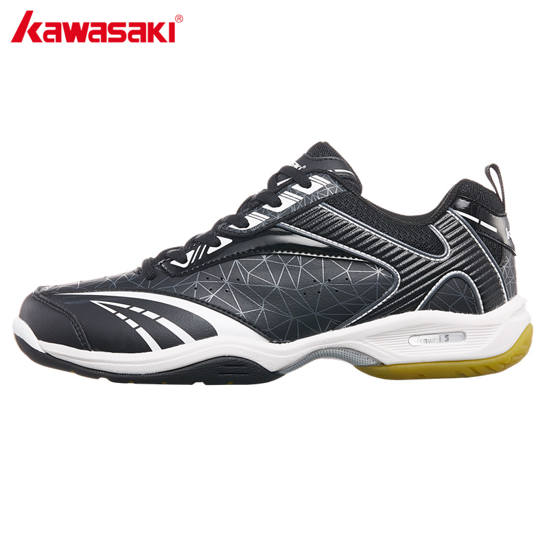 2018 Kawasaki Brand Men's Badminton Shoes Professional Indoor Court Sports Sneakers Anti-Slippery Wear-Resistance  Light K-155