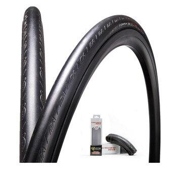 Neumáticos de Bicicleta de carretera neumáticos de Bicicleta H-486 700 * 23c plegable Dino piel Slick Bisiklet Lastik de ciclismo caliente venta