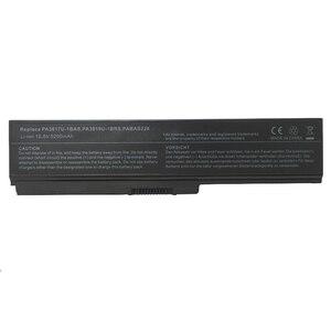 Image 3 - GZSM laptop batterie PA3817U 1BAS für TOSHIBA PA3817U 1BRS batterie für laptop L700 L730 L735 L770 L740 L745 L750 L755 batterie