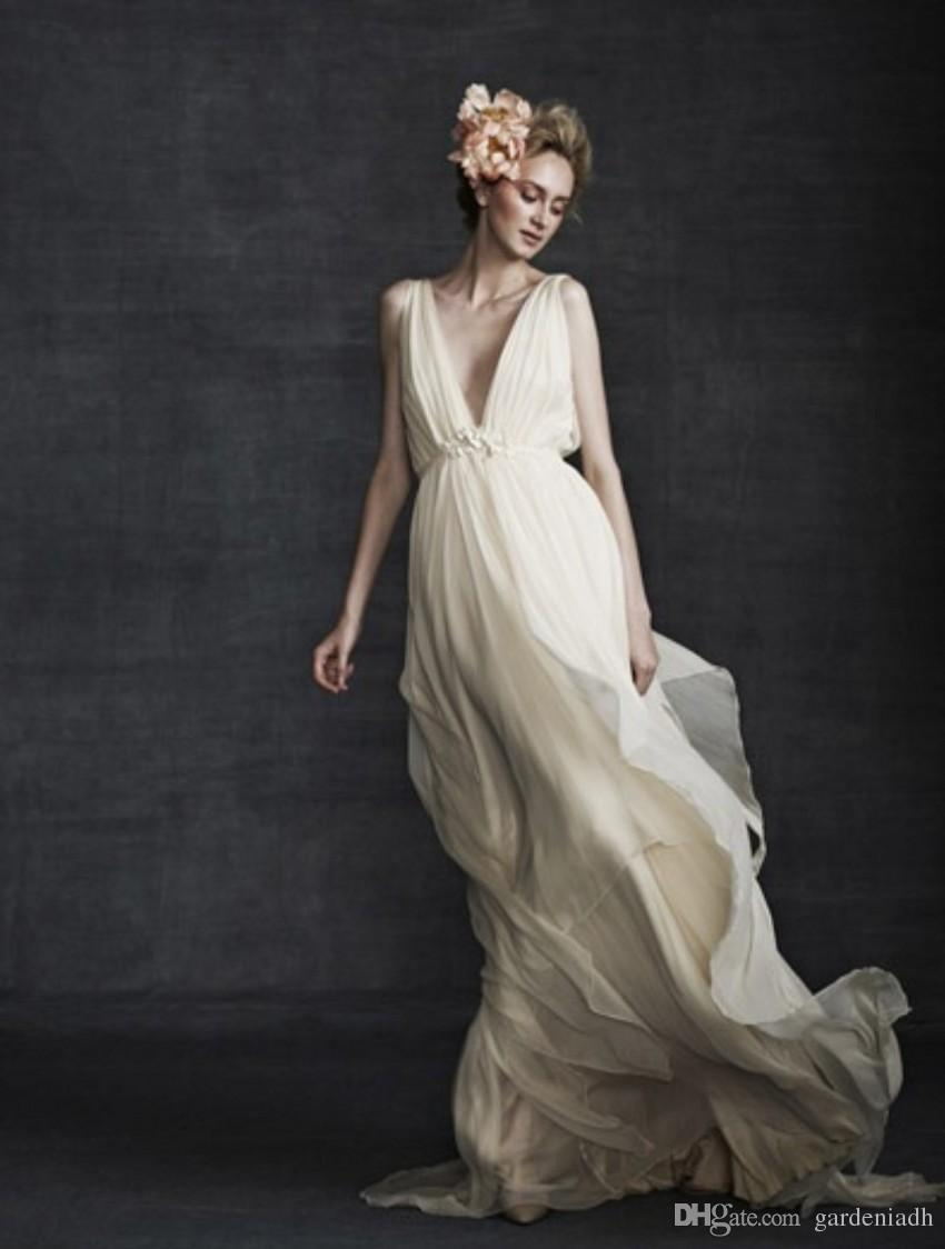 Aliexpress.com : Buy Vintage Greek Goddess Wedding Gown Summer ...
