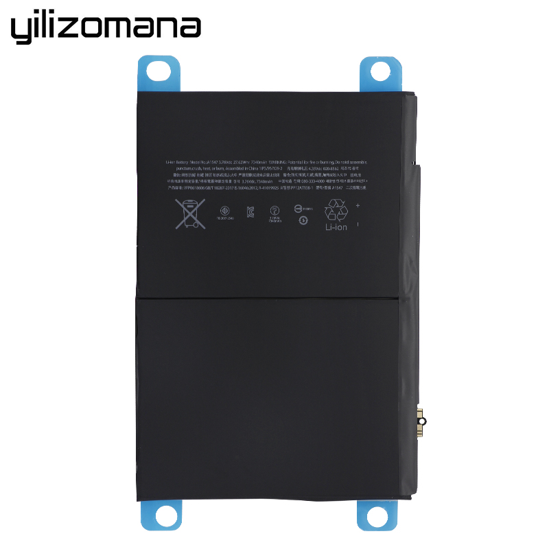 Replacement For 2 A1567 Original YILIZOMANA  Tablet iPad Air A1566 7340mAh 6 Battery 3