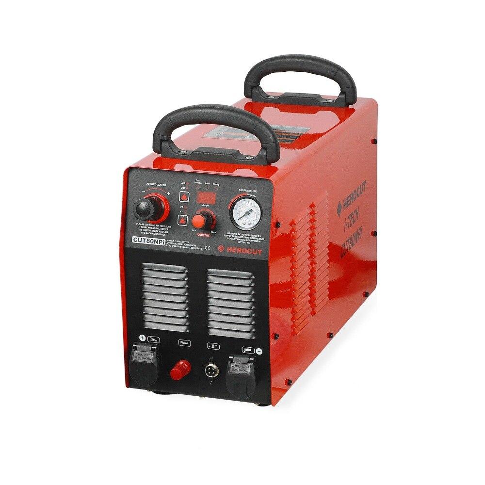 Plasma Cutter HC8000/CUT80NPi CNC Non-HF Arc Pilote 380 V Numérique Machine De Découpe Plasma De Contrôle 25mm coupe nette 35mm Rupture Cut