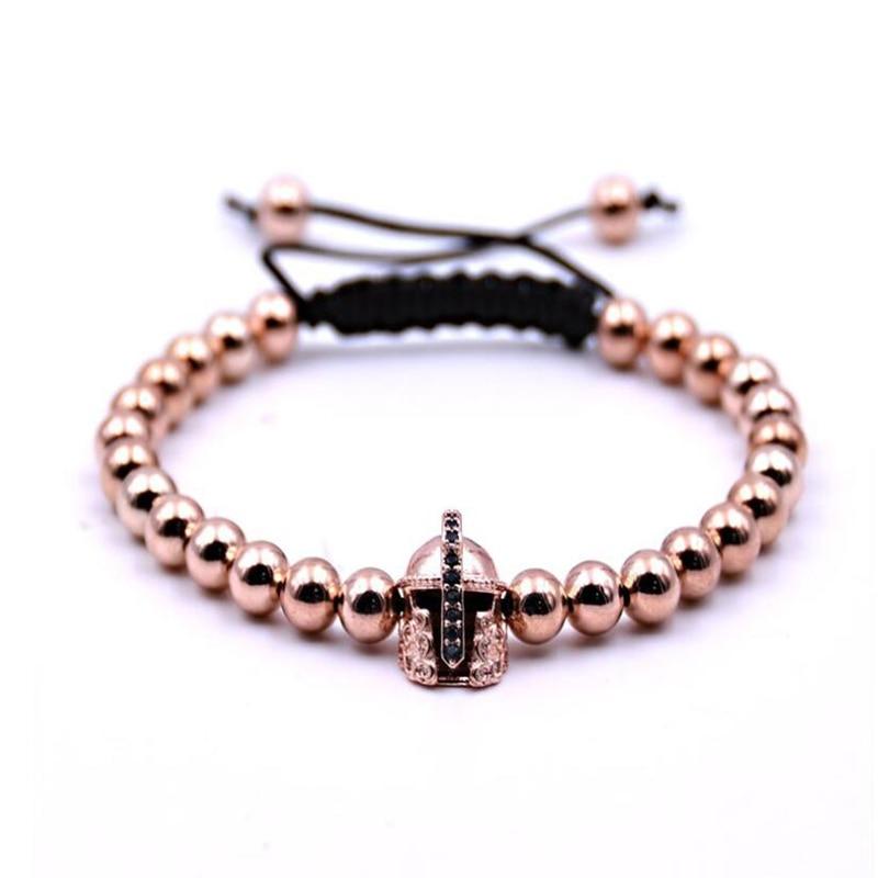 2pc Fashion stainless steel bracelet alloy jewelry men and women star jewelry Hand-woven beads string bracelet Lol