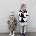 Blusas de inverno Menino Da Criança Roupas Das Meninas Dos Meninos de Malha Crianças Camisola Crianças Cothes Bebê Pullover Camisola Menino