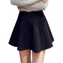 Wool and 2018 Korean women's new slim winter A word skirt manufacturers(China)