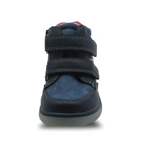 Image 2 - Apakowa/осенне весенние зимние Ботинки Martin для маленьких мальчиков на молнии; Модные детские ботильоны для мальчиков; Детская обувь с поддержкой арки