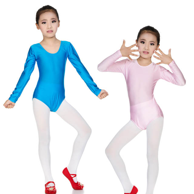 918f1a9b29cb Online Shop Discount Long sleeved Spandex Gymnastics Leotard for ...