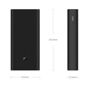 Image 4 - 2019 جديد شاومي mi قوة البنك 20000mAh 3 USB C 45 واط ثلاثة منافذ إخراج PD شاحن سريع Powerbank شاومي 2C بطارية خارجية
