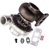 T70 T4 twin scroll rear 0.70 A/R .82 A/R oil turbo TurboCharger 500BHP V Band for 1.8L 3.0L 550hp Compressor Gasket
