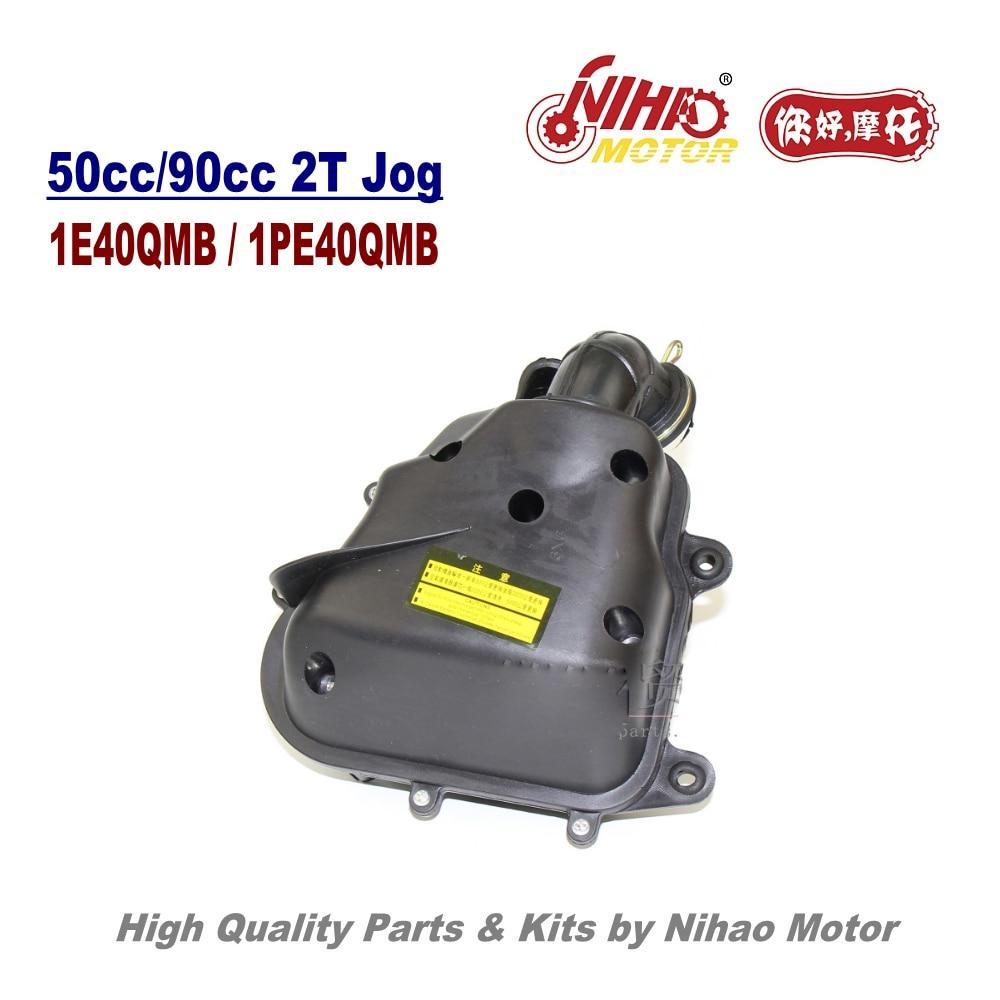 TZ-25 JOG 50cc воздушный фильтр в сборе 2-тактный двигатель части 1E40QMB 2T Jog китайский мотоцикл Скутер 50 70 90cc Nihao двигатель