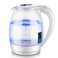 Blue Light Transparent 1.7L Water Heater Electric Kettle Water Boiler Bottle 220V High Quality Fast Electric Water Boiling Pot