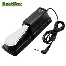 BeatBox Piano Sustain Damper Pedal MIDI Keyboard Sustain Pedal for Electric Piano Electronic Keyboard Organ Casio yamaha(China)