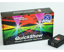 Pangolin Quickshow quick show USB ILDA PC Pro animation Laser Light Show Designer Controller Software Free Shipping(China (Mainland))
