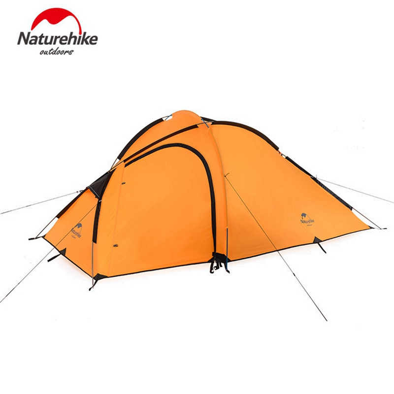 Naturehike 3 Person Ultralight Tent 210t 4 Season Aluminum