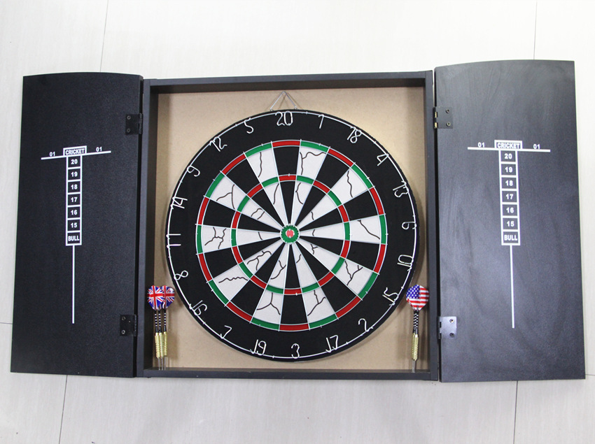 Wooden box dart board customized a variety of dart board style darts optional customized printing LOGOWooden box dart board customized a variety of dart board style darts optional customized printing LOGO