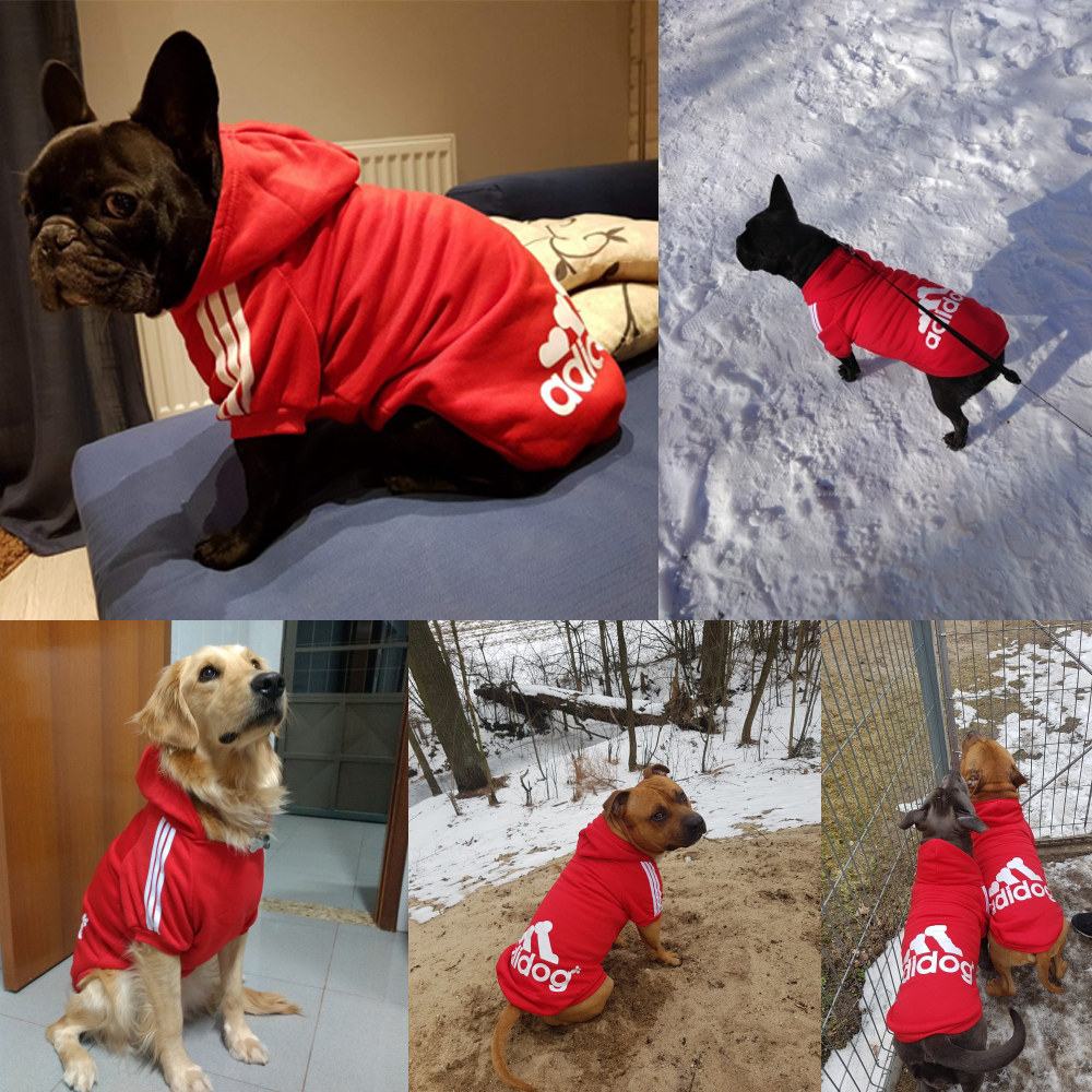 Pet Dog Clothes For Large Dogs French Bulldog Dog Hoodies
