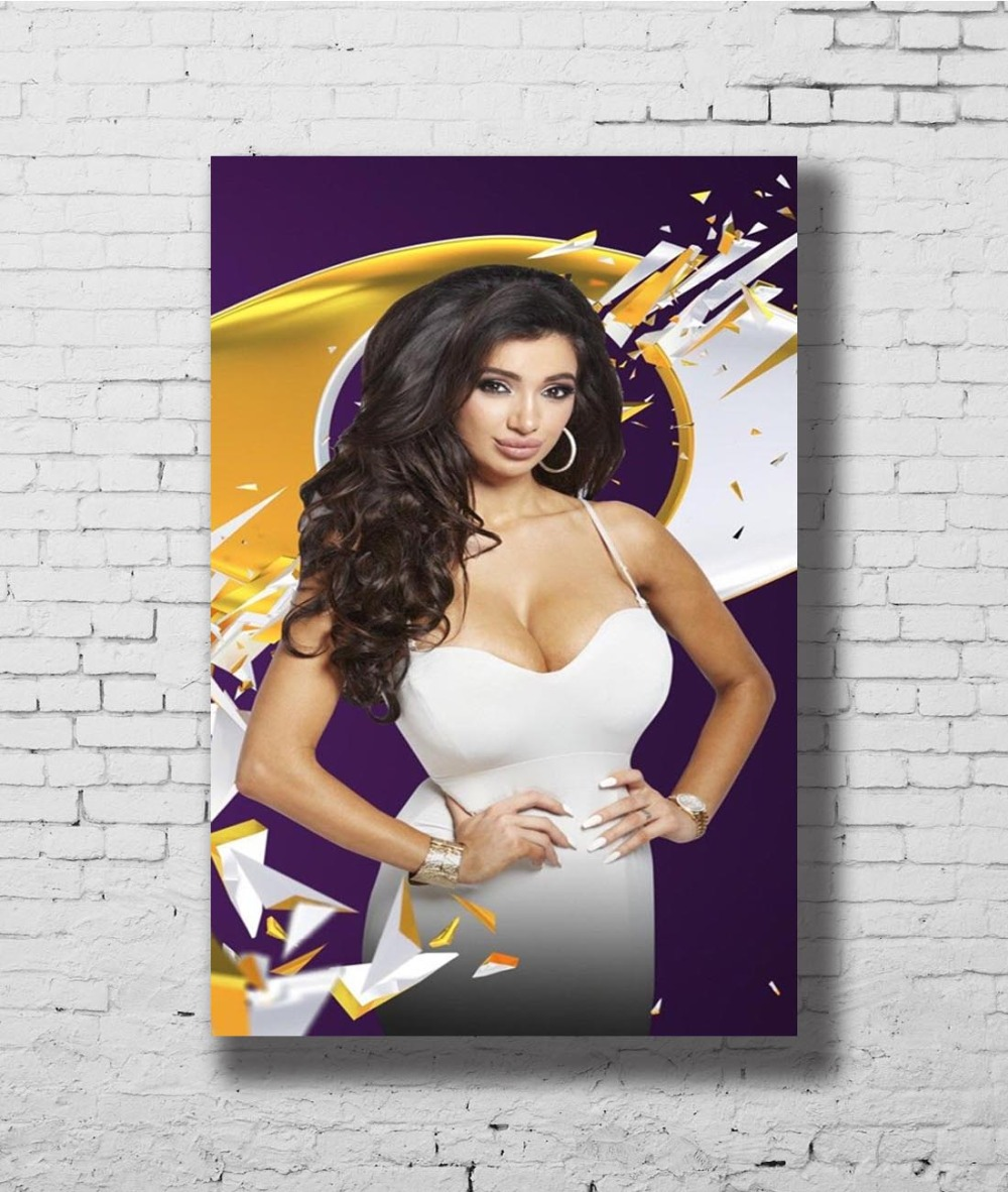 Big Boobs Girl Print Poster or Canvas