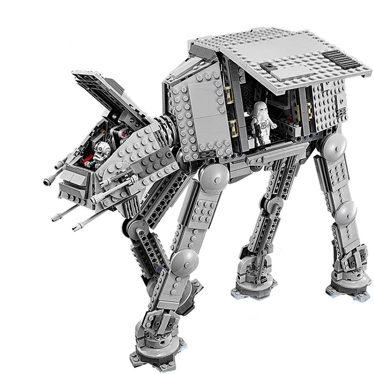 Lepin 05051 Star War Series Force Awaken The AT-AT Transpotation Armored Robot Building Blocks Bricks Compatible legoed 75054 batman detective comics volume 9 gordon at war