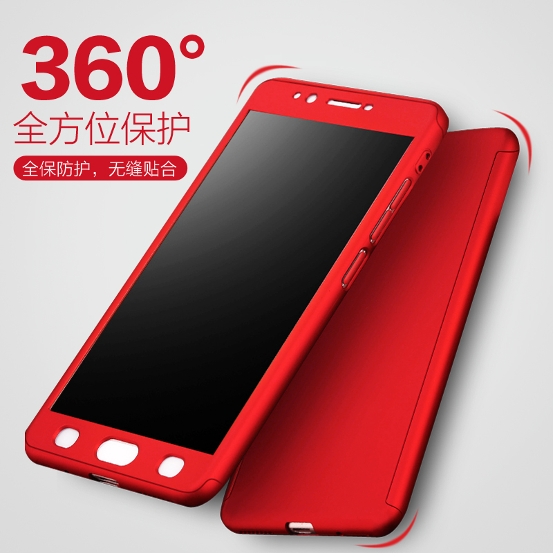 quality design 1f677 3cb6e US $7.69 |Luxury Hard Plastic PC Case For BBK Vivo Y55 Y55s 360 Full Cover  Cell Case on For Vivo Y55 Matte Body Protection +Tempered Glass-in Fitted  ...