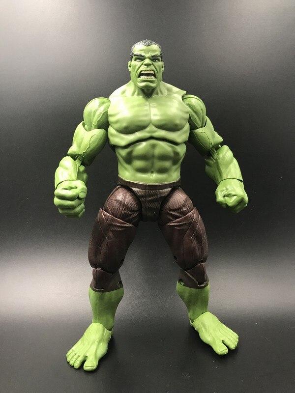 6 ''action figura Marvel leyendas versión cómica Hulk modelo de recogida muñeca juguetes de un regalo de cumpleaños.