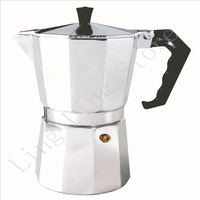 Stove Top Moka Espresso Coffee Maker Percolator Stove Coffee Maker 50ml 150ml 300ml 450ml 600ml
