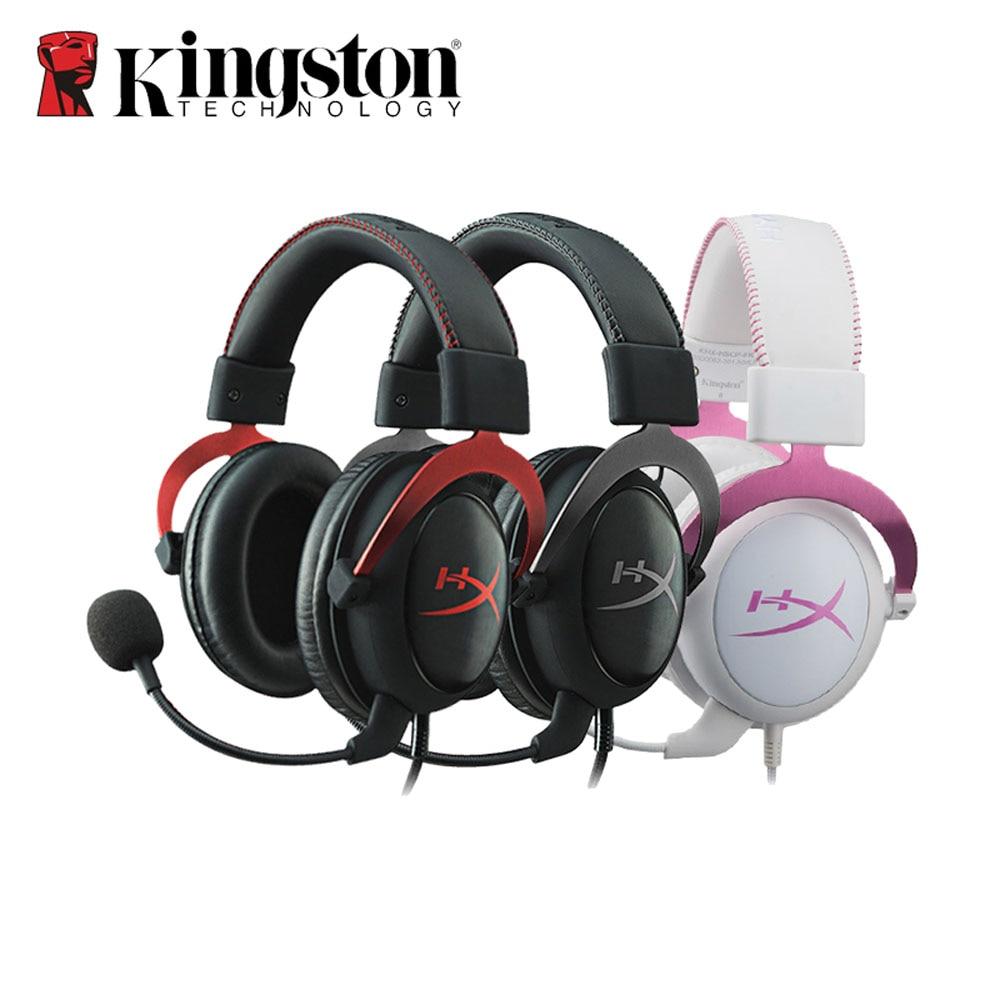 Kingston hyperx cloud ii gaming headset hi fi 7 1 surround sound gaming headphone with microphone