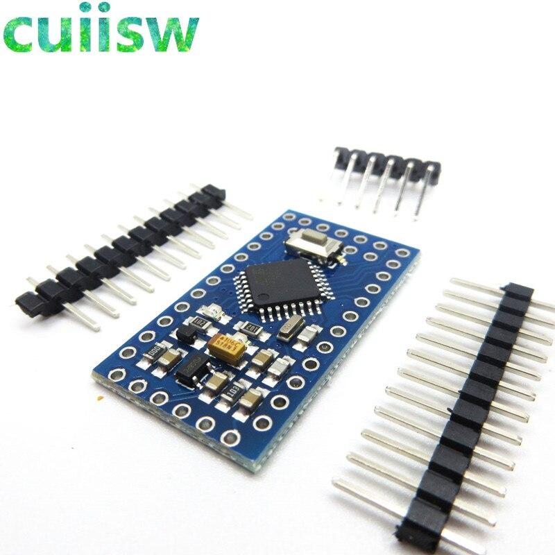 1 шт./лот Новые pro mini 328 электронные строительные блоки интерактивные медиа ATMEGA328P 5 В/16 м для arduino совместимы Nano