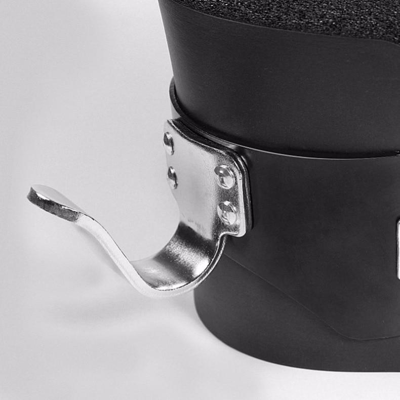 Pendaison tirer vers le haut bottes 1 paire noir Anti gravité Inversion raccrocher chaussures thérapie accrocher colonne vertébrale Ab menton Up Gym Fitness équipement - 4