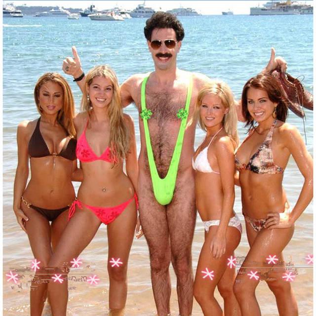9ff7f99d3d Sexy Siamese Men s Swimwear Beach Board shorts trunks V shape Thong  Swimsuits Bathing Suits Men Swimming