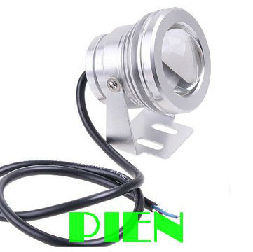 10w Led Underwater Light Flood Outdoor Swimming Pool Waterproof Round Lamp Green Blue Red 12v