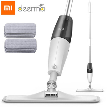 Xiaomi Mijia Smart Deerma Water Spray Mop 360 Rotating Cleaning Cloth Head Wooden Floor Ceramic Tile Mop Dry Cleaning Tools 1