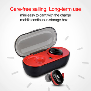 Image 5 - Wireless Bluetooth Headset Stereo Earbuds Bluetooth Earphone for iphone xiaomi  Samsung TWS Wireless Headphone with Charging Box
