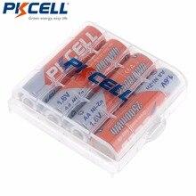PKCELL pilas recargables AA de níquel Zinc, baterías ni zn de 1,6 V, 4 Uds., 2500mWh, 1 Uds.