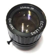 HD 3mp 25mm Lens CCTV Fixed Iris IR Infrared CS Mount view 70m For CCD IP Camera