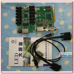 Image 4 - Linsn 801/802 kontrol sistemi 1 gönderme kartı sd801D/sd802D + 1 alma kartı rv801D/RV908D + hub75 kart + dvi kabloları, usb kabloları