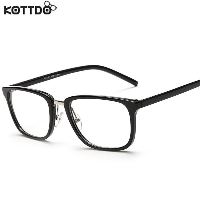 っKOTTDO moda cuadrado de las mujeres de la vendimia lentes marca ...