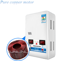15KVa Voltage Stabilizer With Input Voltage 120V 270V & Output 220V Household Automatic Stabilized Power Supply Tool TM 15000VA