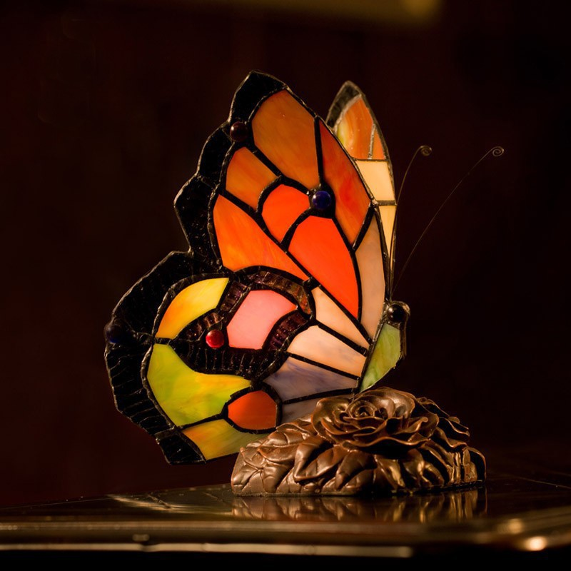tiffany lamps bedroom tiffany butterfly lamps china mainland. Black Bedroom Furniture Sets. Home Design Ideas